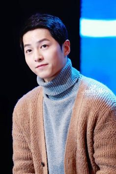 Always thought men looked nice wearing layered or twinset sweaters. Handsome Korean Actors, Handsome Boys, Descendants, Deep Rooted Tree, Song Joon Ki, Descendents Of The Sun, Sungkyunkwan Scandal, A Werewolf Boy, Songsong Couple