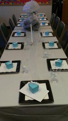 Breakfast at Tiffanys birthday theme