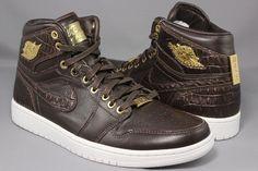 Jordan Brand Tries Crocodile Skin on Air Jordan 1s