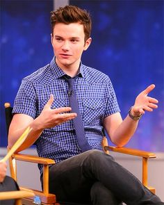 Chris Colfer, TLOS, cute
