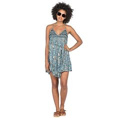 Volcom Womens High Water Dress ** For more information, visit image link. (This is an affiliate link) Vestidos Junior, Junior Dresses, Peplum Dress, Strapless Dress, Snowboarding Outfit, Casual Dresses For Women, Fashion Dresses, Swimwear, Women's Casual