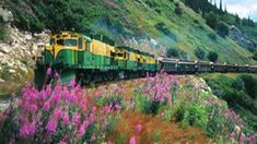 Experience the breathtaking panorama of mountains, glaciers, gorges, waterfalls, tunnels, trestles, and historic sites from the comfort of our vintage passenger coaches. See the original Klondike Trail of '98 worn into the rocks, a permanent tribute to the thousands of souls who passed this way in search of fortune. Once a water-stop for the thirsty steam engines and rotary snowplows, Fraser, BC, is now the site of Canadian Customs and Immigration.