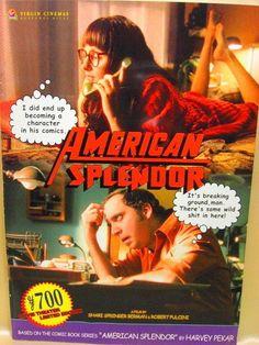 Movie Program Japan- AMERICAN SPLENDOR /2004/ PAUL BIAMATTI, JAMES URBANIAK