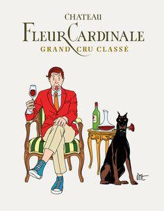 Château Fleur Cardinale by Jean-Michel Tixier | Agent Pekka