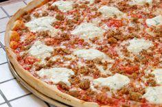 pizzas estupendas en Nueva York.