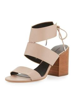 REBECCA MINKOFF Christy Leather City Sandal. #rebeccaminkoff #shoes #sandals