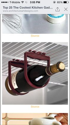 all about saving space....for more wine!