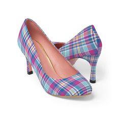 #PlaidShoes #HighHeels #FashionShoes #FashionCasual