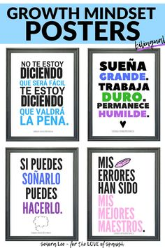 Spanish Classroom Decor - Spanish Classroom Posters