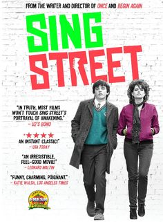 See 1980s Dublin through the eyes of fourteen-year-old Conor, who is looking for a break from a home strained by his parents' relationship and money troubles while trying to adjust to his new inner-city public school where the kids are rough and the teachers are rougher. He finds a glimmer of hope in the mysterious, über-cool Raphina.  Musical, Rated PG-13, 106 min.  http://ccsp.ent.sirsi.net/client/en_US/hppl/search/results?qu=sing+street+carmody&te=&lm=HPLIBRARY&dt=list