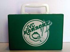 Vintage JVC Karaoke JMC-81 My Favorite Songs 10 Cassette Set Case or Purse Green