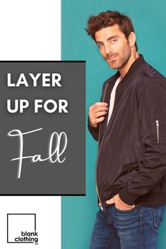 Fall is fast approaching, and Blankclothing.ca has all the styles you'll want to be wearing. Shop jackets, sweaters, and long-sleeves today. #mensstyle #womensstyle #sweaterweather #bomberjacket