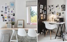 Decofilia te trae más de 40 ideas para decorar la pared del escritorio con estilo. Tips originales, prácticos y low cost para renovar tu zona de trabajo.
