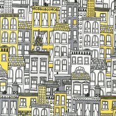 Uptown quilt or craft fabric by Brejer for Robert Kaufman by fabricshoppe, $9.50