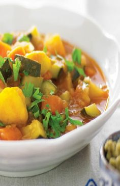 Low FODMAP Recipe and Gluten Free Recipe - Chunky vegetable soup ---- http://www.ibs-health.com/low_fodmap_recipe_chicken_vegetable_soup.html