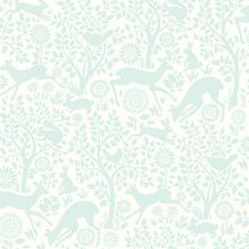 """Hide and Seek Anahi Forest Fauna 33' x 20.5"""" Wildlife Embossed Wallpaper"""