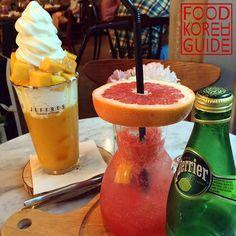 Mango Smoothie & Grapefruit Detox Ade 썸망고 & 자몽디톡스 에이드