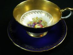 Aynsley Athens tea cup and saucer