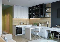 Go Through Small Kitchen Design Images – Decor Ideas Beautiful Kitchen Designs, Best Kitchen Designs, Kitchen Bar Design, Interior Design Kitchen, Kitchen Decor, Kitchen Ideas, Kitchen Bars, Kitchen Cupboard, Kitchen Pictures