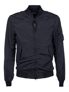 CP Company - Tech nylon jacket in blue Palestine People, Serbia And Montenegro, Armenia Azerbaijan, Nylon Bomber Jacket, Pitcairn Islands, British Indian, Isle Of Man, Trinidad And Tobago, Spring Outfits