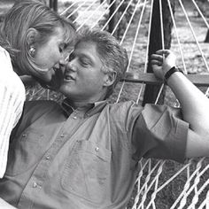 Hilliary Clinton and Bill Clinton.