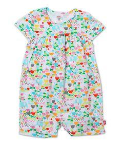 Look what I found on #zulily! White Elephantasia Playsuit - Infant #zulilyfinds