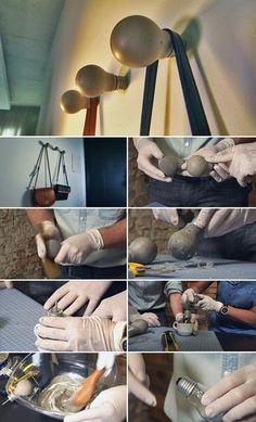 Novo de Novo ensina a transformar cimento em cabideiro de parede (Foto: Toni Mendes/TG)