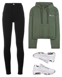 """VetementsSweat"" by baludna ❤ liked on Polyvore featuring Vetements, Givenchy and NIKE"
