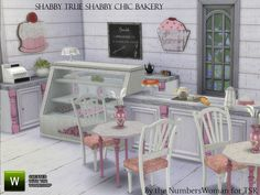 Old fashioned bakery items for your Sims to have a quaint establishment. This set is meant to work with The EP GET TO WORK, however the only things that are not base game are the cash register and...