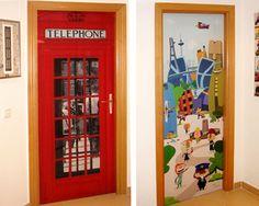 puertas decoradas de navidad - Buscar con Google