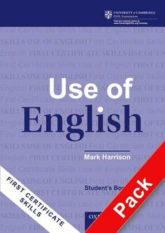 First Certificate Skills - Use of English: Teacher'S Pack: Teacher's Pack Student's Book and Answer Booklet: Amazon.es: Libros en idiomas ex...