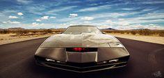 Knight Rider  K.I.T.T. by t0m_ka