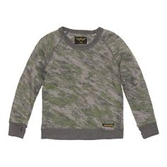 Finger Grey Camo Sweater