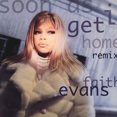 Faith Evans - Soon As I Get Home (Remix) (Vinyl) at Discogs