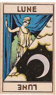 Cartas do Destino: Destino e Tarô: Tarot Astrologique - A Carta Lua