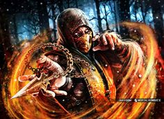 Render of SCORPION from upcoming game Mortal Kombat X in 2800x1750. Description from deviantart.com. I searched for this on bing.com/images