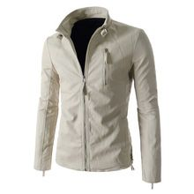 2016 Men's Fashion Zipper Collar Slim Leather Jackte Solid Color Casual Washed Short Paragraph Motorcycle Jacket Coat 13M0169     Tag a friend who would love this!     FREE Shipping Worldwide     #Style #Fashion #Clothing    Buy one here---> http://www.alifashionmarket.com/products/2016-mens-fashion-zipper-collar-slim-leather-jackte-solid-color-casual-washed-short-paragraph-motorcycle-jacket-coat-13m0169/