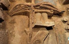 Discovery: This is the first ever crossbow to have survived intact found from the Qin Dyna...