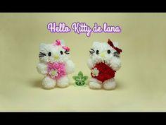 En éste vídeo os enseño a hacer una Hello Kitty con pompones de lana. Para regalar o para ti si te gusta esta linda gatita. ¿ No es una ternura ? Vamos a ver...