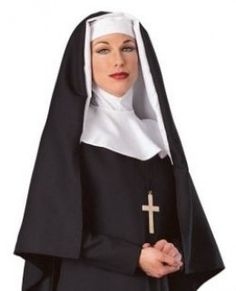 How To Make a Nun Costume for Halloween!