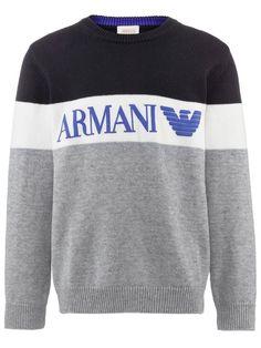 Armani Junior pullover, fashion pullover boy,