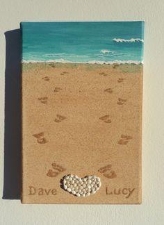 Handmade Seashell Mosaic Collage Artwork Wall Decor by SeashellBeautyinArt Collage Artwork, Collages, Beach Wedding Gifts, 3d Wall Decor, Pebble Art, Sea Shells, 3 D, Mosaic, Etsy Seller