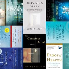 Great Books on Consciousness, Death, and the Afterlife Research Scientist, Life After Death, Great Books, Consciousness, Investigations, Spirituality, Mindfulness, Science, Reading