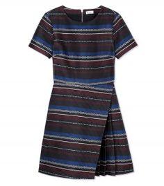 Suno Stripe Dress - Shop ways to wear our new favorite It-bag: http://shop.harpersbazaar.com/in-the-magazine/ferragamo-fiamma