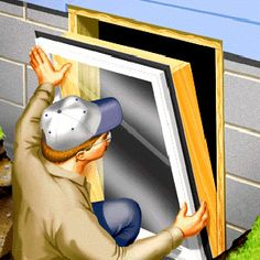 Egress window requirements and step by step process.  Perfect solution for adding useable square footage to basements. - Popular Mechanics