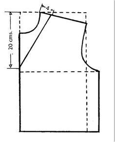 Cómo hacer algunos tipos de escotes  (I)
