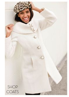 White coat with dramatic collar