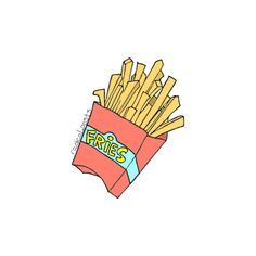 Fries before guys ~ tumblr transparents and layovers Credit : radical.posts | instagram