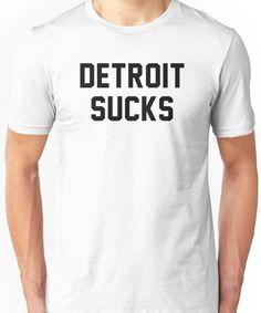Lester Bangs - Detroit Sucks Unisex T-Shirt