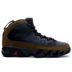 new style cfe10 490cc Air Jordan Retro 9 Black Light Olive True Red 302370 cheap Jordan If you  want to look Air Jordan Retro 9 Black Light Olive True Red 302370 you can  view the ...